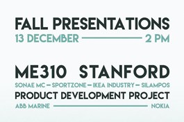 ME310 Stanford | PdP Fall Presentations